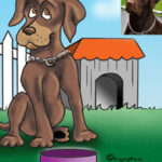Dog Caricature from photo